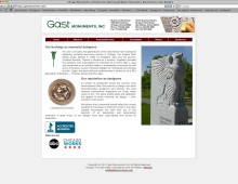 Gast Monuments Website