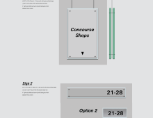Wayfinding Sign Design